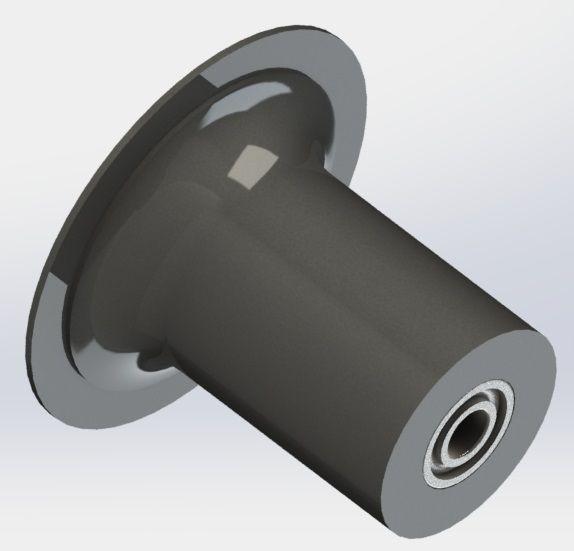 Çelik Ray Tekeri(Rulmanlı) (Eski Tip)