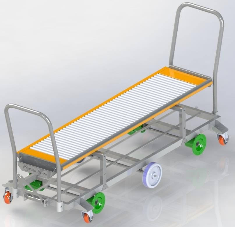 HST-02 Reel Harvesting Trolley