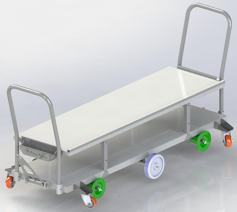 HST-04  Galvaniz Saclı Hasat Arabası