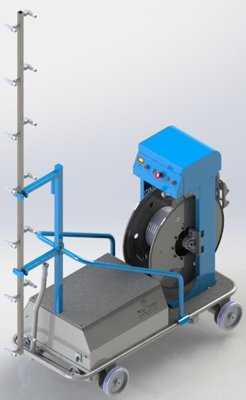OİM-01 Automatic Spraying Machine