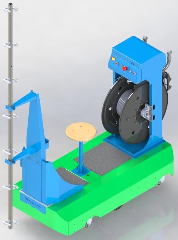 OİM-02  Otomatik İlaçlama Makinası