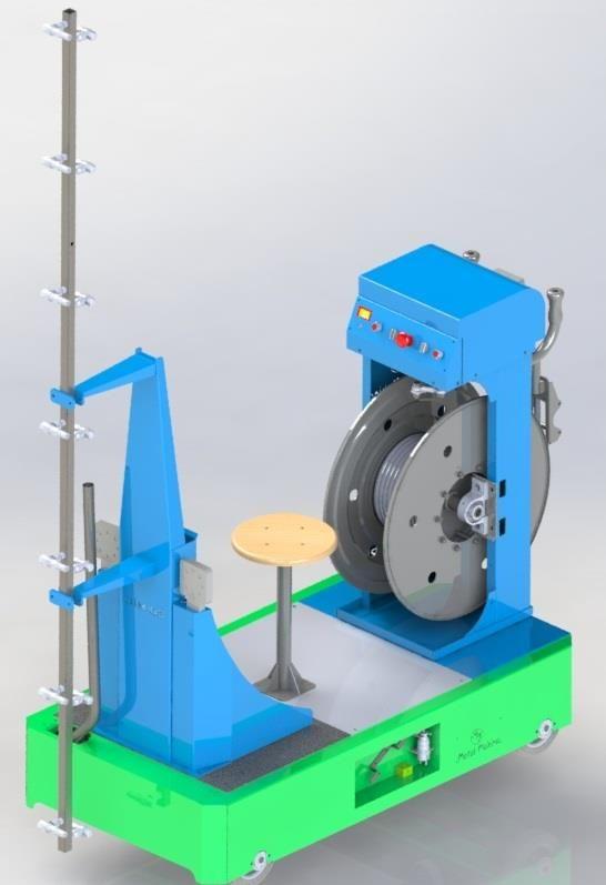 OİM-03  Otomatik İlaçlama Makinası