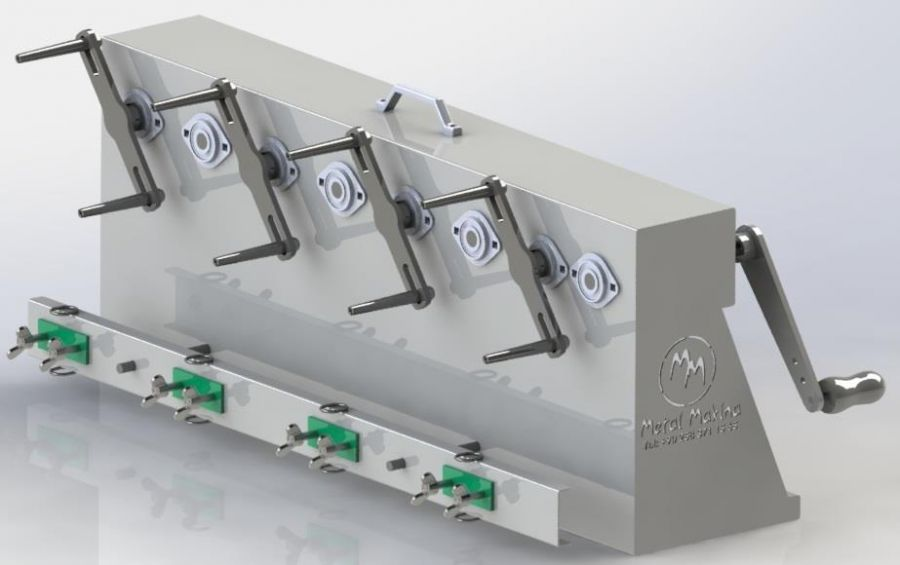 MİS-04 Manual Twine Winding Machine