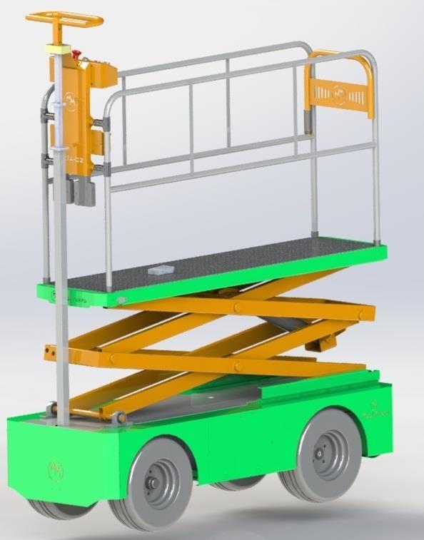 TKIA-02 Cultural Processing Trolley