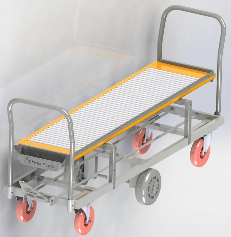 HST-05 Reel Harvesting Trolley