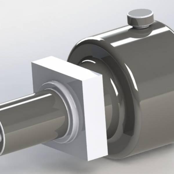 Hidrolik Motoru(Tüm Set) (Motor+Pompa+ 4 Lt. Tank)