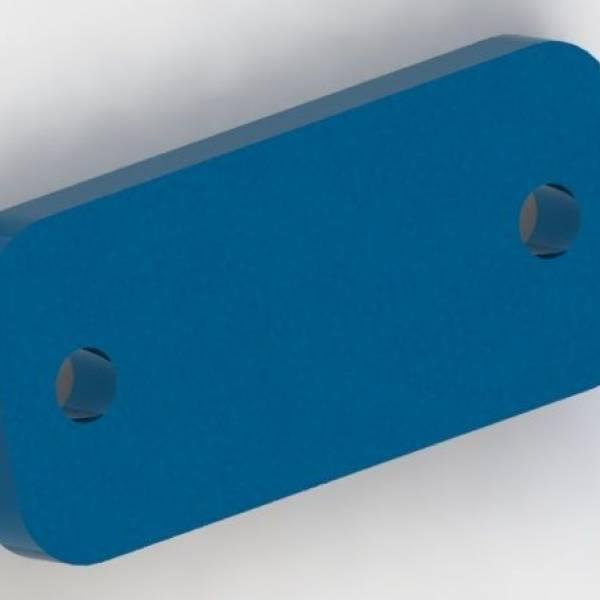 Spraying Pole Lock Plate